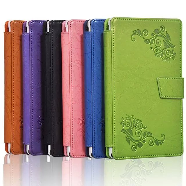 Floral Printed Leather Case Smart Cover For Lenovo Tab 2 Tab2 A7-30HC A7-30 A7-30TC A7 30TC Tablet Flip Cover Protective Case