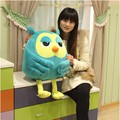 Free shipping Hot sale 60cm cartoon heirs owl plush toy  owl soft stuffed toy children birthday gift