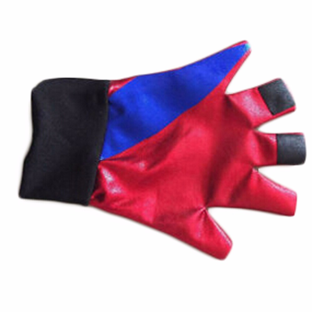 Suicide Squad Harley Quinn Gloves Female Clown Halloween Costume Glove Anime Batman Movie Cosplay Accessories