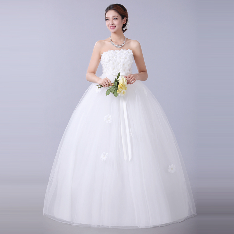 Cheap wedding dress under 100$ new 2016 slit neckline bridal wedding ...