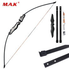 High Quality Straight Bow Split 51 Inches 30 Pounds Fiberglass Limbs Entry Bow for Archery Hunting Shooting