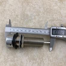 3 1/2 Draft Beer Nipple Shank Assembly Chrome 3/16 Bore Kegerator Tap Homebrew bar Tool