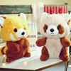 1Pc Kawaii Raccoon Plush Toy Cute Stuffed Animal Doll Cartoon Raccoon Dolls Kids Toys Birthday Gift