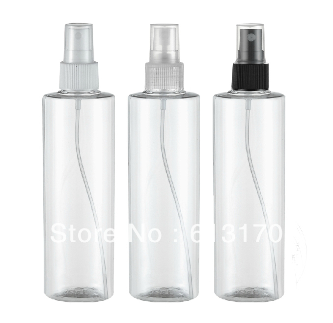 250ml plastic spray bottle transparent pet empty PET spray bottles Packing containers clear