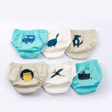 3 шт/компл милые дышащие трусы для младенцев детское нижнее