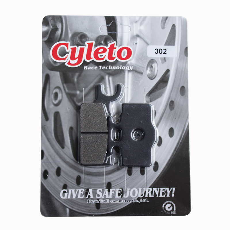 Cyleto Front Brake Pads for Kawasaki KX65 KX 65 2000 2001 2002 2003 2004 2005 2006 2007 2008 2009 2010 2011 2012 2013
