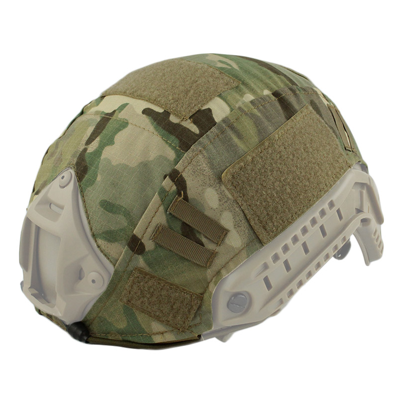 Tactical Helmet Cover Airsoft Paintball Wargame Gear FAST Helmet Cover for BJ/PJ/MH Style helmet -Free Shipping militech fast aor2 bj high cut style vented airsoft tactical helmet ops core style base jump training helmet air soft helmet