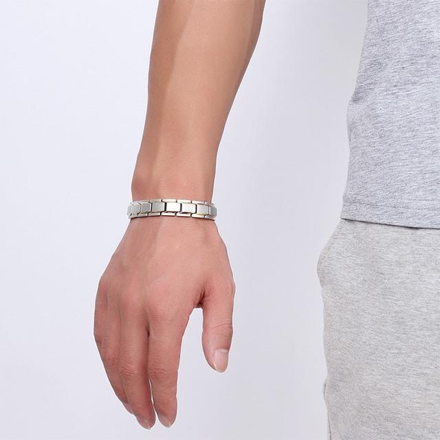 Trendy Magnet Bracelet Stainless