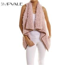 Winter Lamb Wool vest coat women 2016 New Fashion Irregular Hem Waistcoat Sleeveless Plush Jacket vest