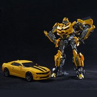 Transformation Action Figure Toys for Boy Deformation Robot 5 Ko Mpm03 Bee Car Robots Model