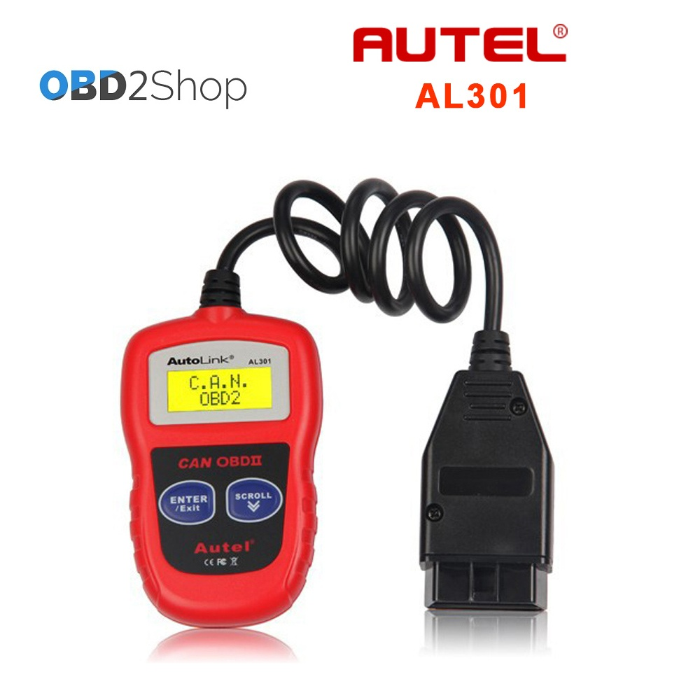 Autel AutoLink AL301 OBDII OBD2 CAN Code Reader Scanner Auto Fault Diagnostic Scan tools