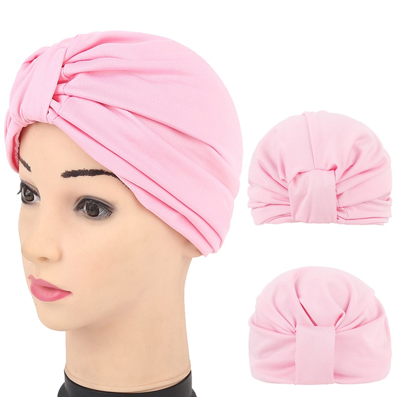 2019 New India Cap Islamic Hat Solid Color Fashion Style  Muslim Turban Hat