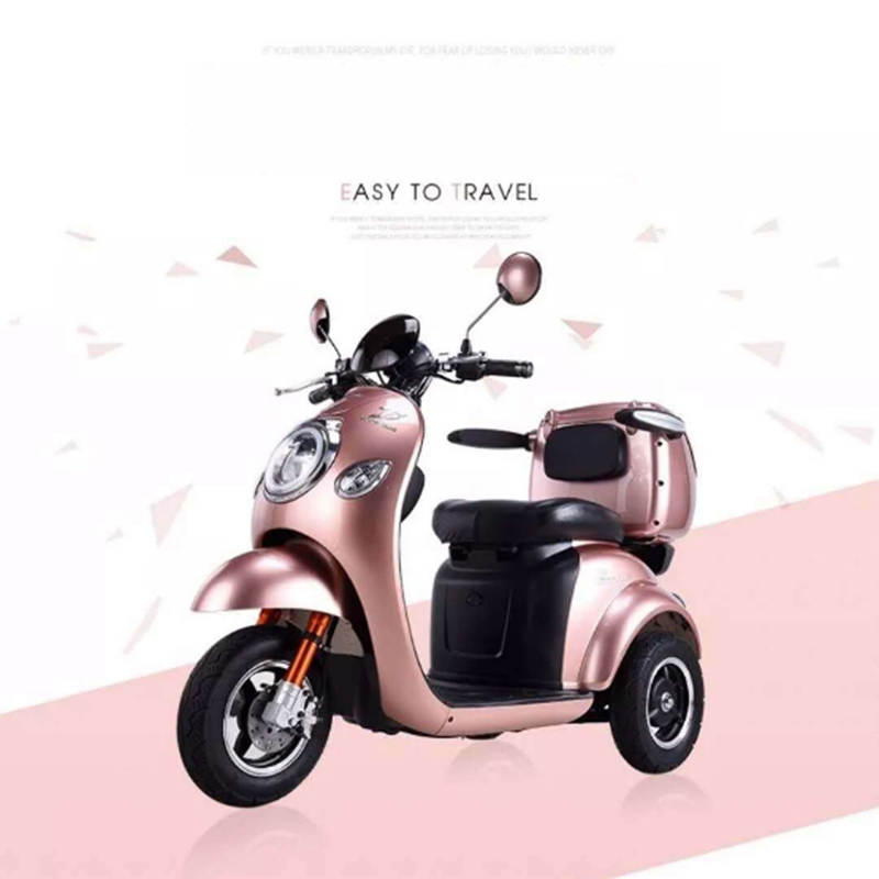 Electric tricycle Citycoco Electric scooter 500W LED headlights Recreational vehicle Electric bike LCE Electric motorcycles