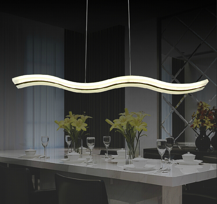 Buy 38W LED Pendant Lights Modern Kitchen