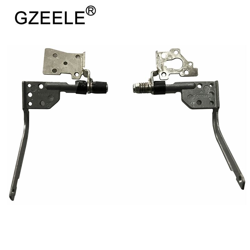 GZEELE NEW Laptop Hinges For Lenovo IdeaPad Y510 Y520 Y530 F51 Screen Hinges Left And Right Set Notebook Computer Replacements