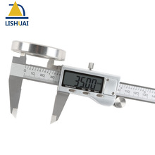 Cheapest prices Free Shipping 150mm Hardened Electronic Stainless Steel Digital Caliper Zinc alloy Vernier Calipers Corrosion Resistant
