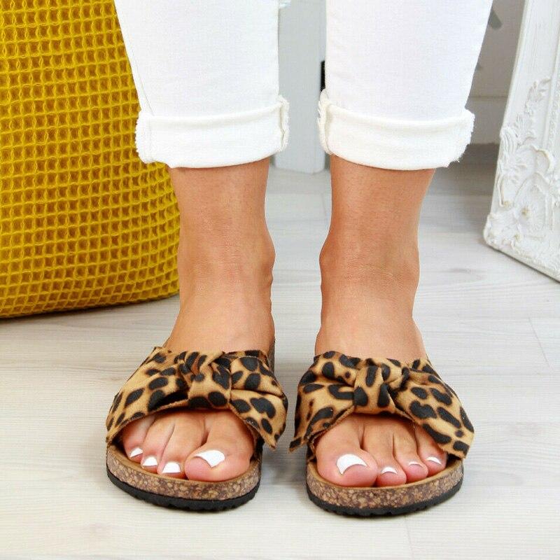 2020 chaussures femme sandales pour femmes chaussures de plage Bow sans lacet gladiateur sandales femmes chaussures d'été sandales plates femme grande taille 10