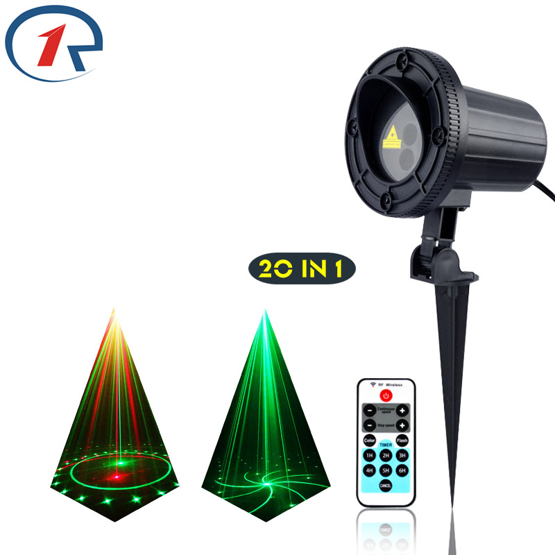 ZjRight IR Remote 20patterns Red Green laser lights outdoor projection waterproof laser stage light KTV dj light bar disco light zjright laser light ir remote red green christmas lights outdoor waterproof garden lamp park party bar dj disco halloween lights