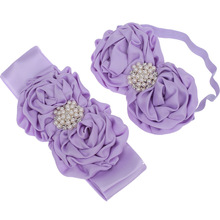 Buy Children's Head Belt With Two Sets Of Rolls, Roses, Sky Stars, Decorative Girth, Maternity Belt, Photography, Props Wholesale. directly from merchant!