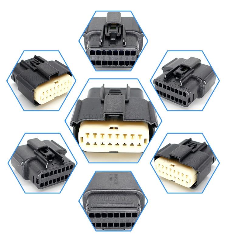 33472 1601 33472 1740 16 pin mx150 molex sealed connectors