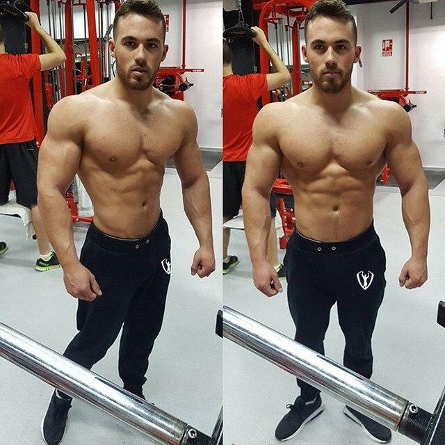 Casual Men's Workout Elastic Pants 2