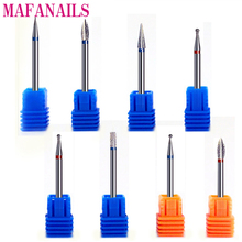 8Type Diamond Nail Drill Bits Rotary Burr Bit Pedicure Tools Electric Nail Manicure Machine Drill Accessories Nail Mills CTH02 недорого