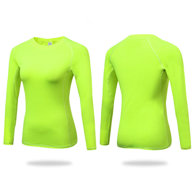 2019 Women's Sports Wear For Fitness Women Seamless Long Sleeve Gym Woman Free Sport Shirt Top Female Workout Tops T Shirt Women