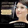 YES1PC креативная маслостойкая маска для приготовления пищи прозрачный защитный щит для лица домашняя чистая Пыленепроницаемая маска кухонн...
