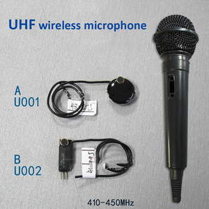 Image 5 - Lusya UHF wireless microphone FM micro interphone audio transmitter child monitoring pickup module G1 010