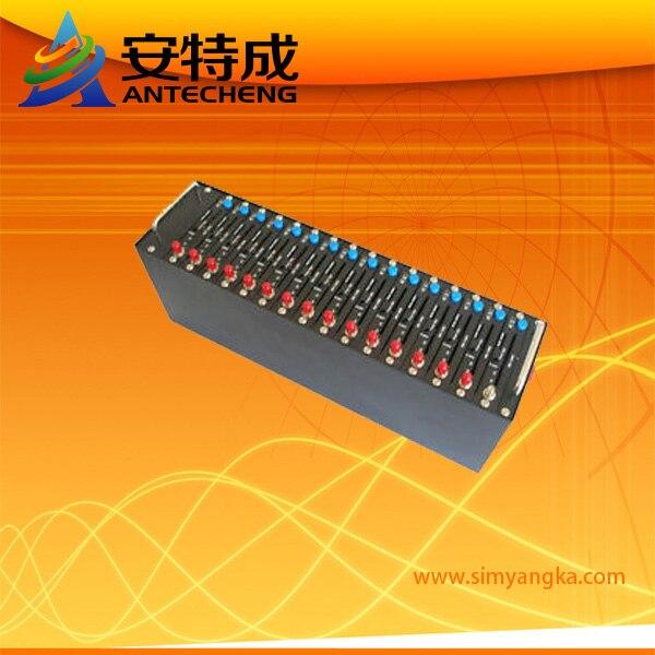 SMS ворот пути сим-карта смс GSM GPRS модемный пул WAVECOM Q2403 16 порт Система перезарядки USSD СТК IMEI изменяемые опции