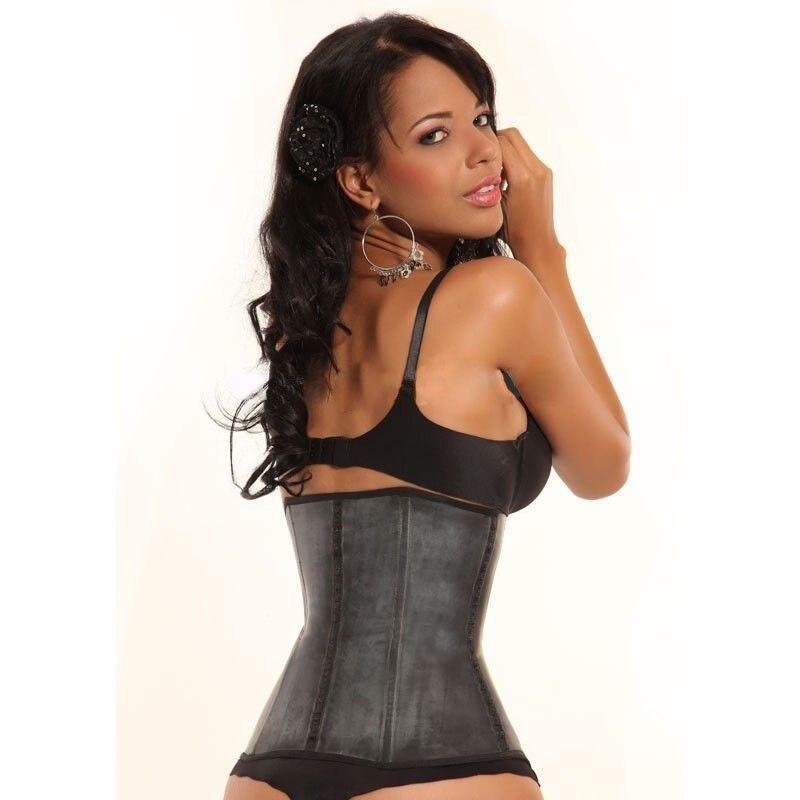 6e620d9254b 100% Faja Latex Waist Trainer Corset Shapewear Waist Slim Belt Steel Bone  Corset Reducer Waist Belt Slim Shapewear Women Girdle-in Waist Cinchers  from ...