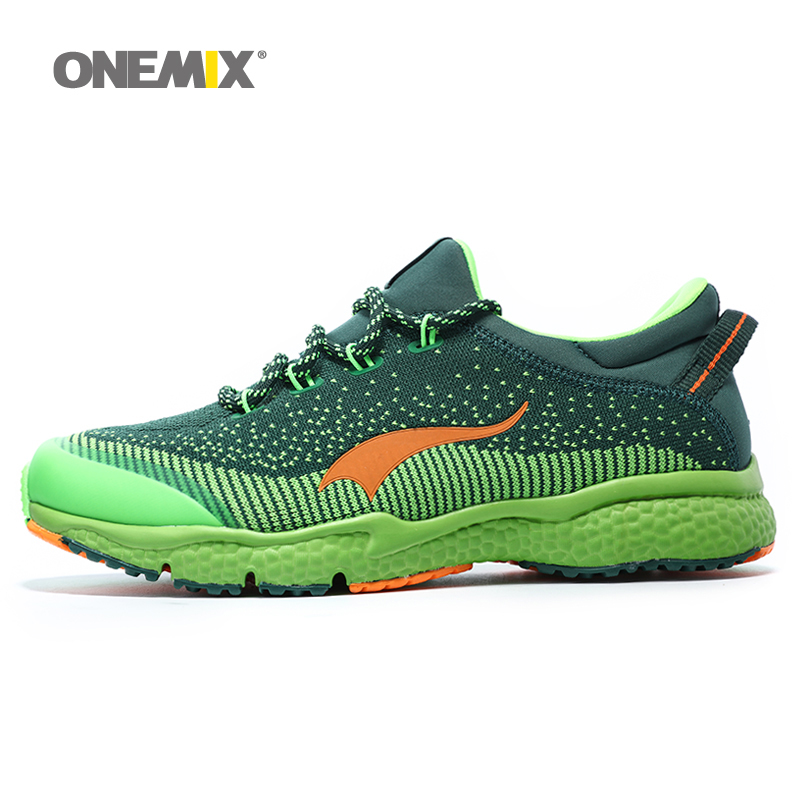 Onemix men running shoes lace up athletic sport sneaker breathable male trainer sneaker man jogging shoes zapatos de los hombres high quality original kids sneaker skid proof cushion running shoes athletic breathable children sport shoes xrkb001