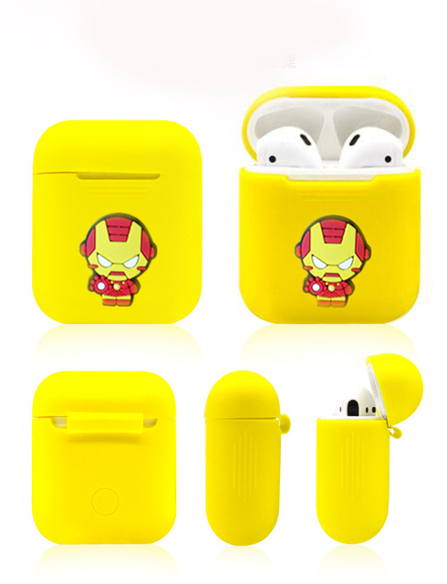 Unique Cute Cartoon AirPod Case Cover 5