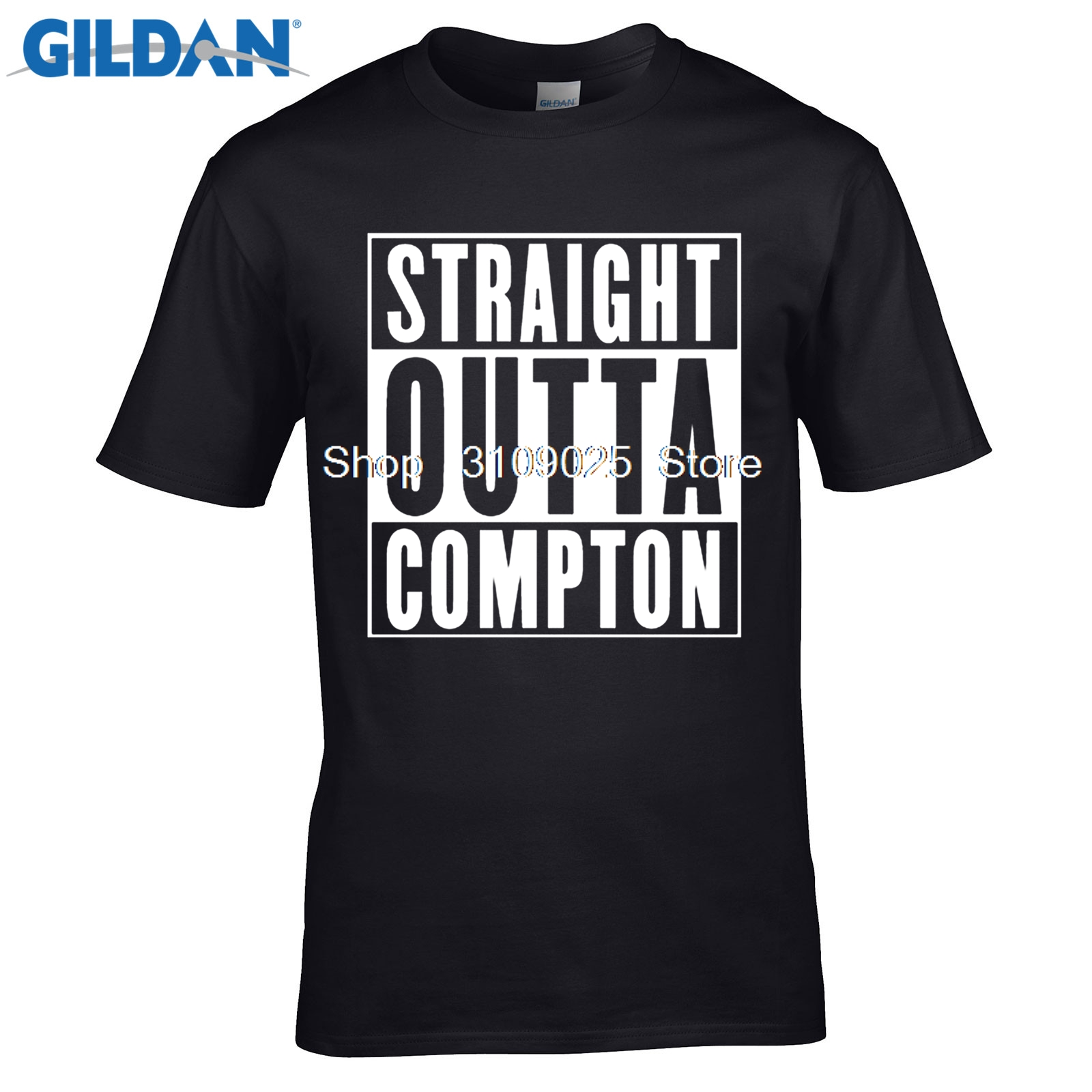 GILDAN funny men t shirt Compton Old English T-Shirt - Eazy E NWA Dr. Dre Easy Game - All Sizes & Colors hip hop N.W.A. T Shirt ...