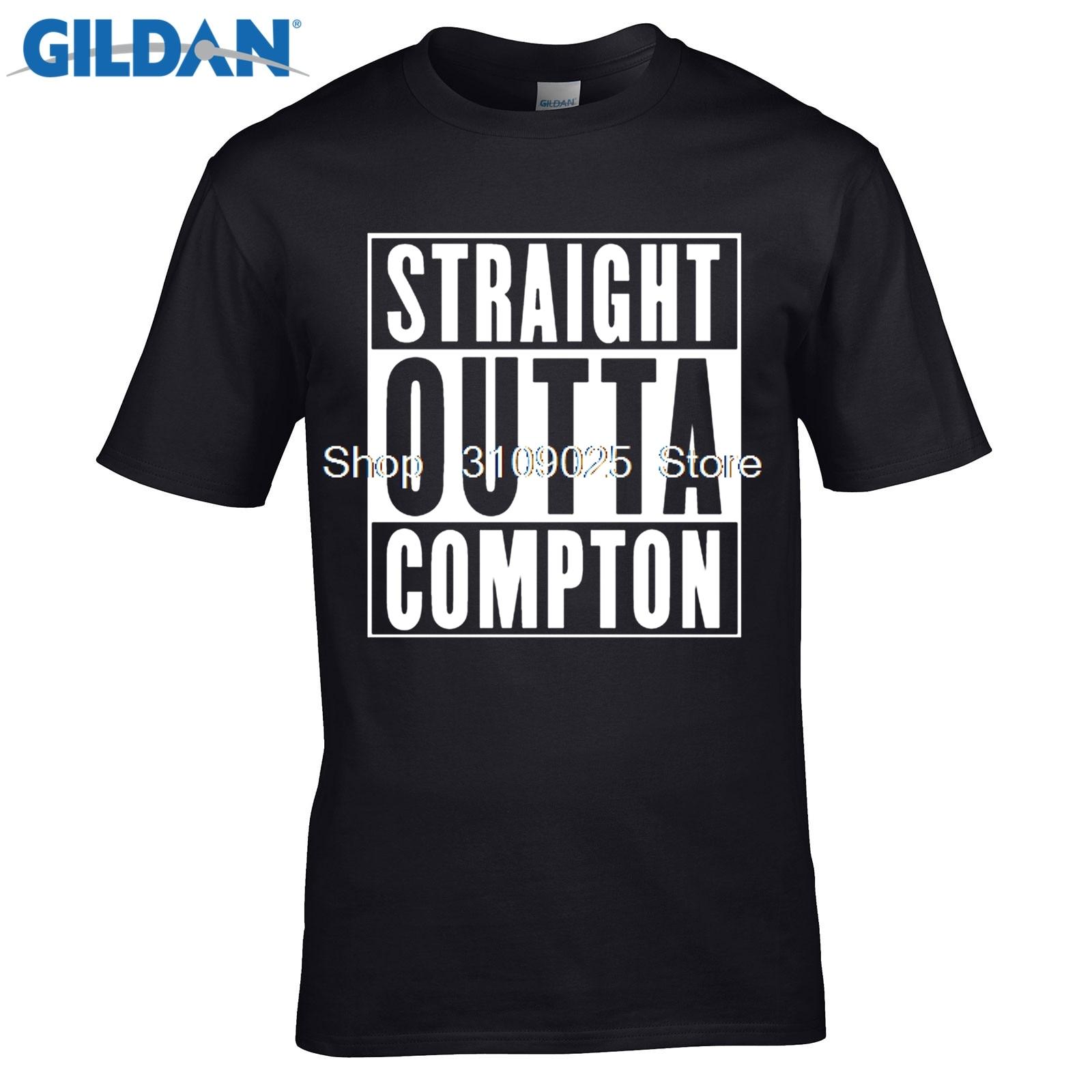 GILDAN funny men t shirt Compton Old English T-Shirt - Eazy E NWA Dr. Dre Easy Game - Al ...