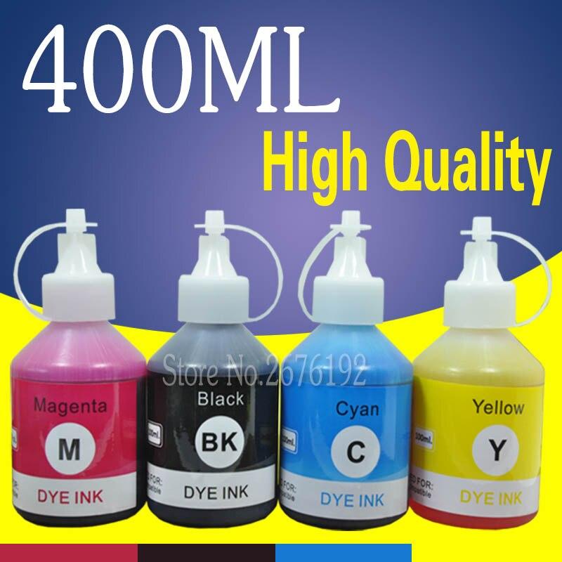 400 мл чернила для заправки Epson ET 4500 ET 4550 L 100 L 110 L 120 L 130 набор чернил для заправки 664 T6641 ECOTANK