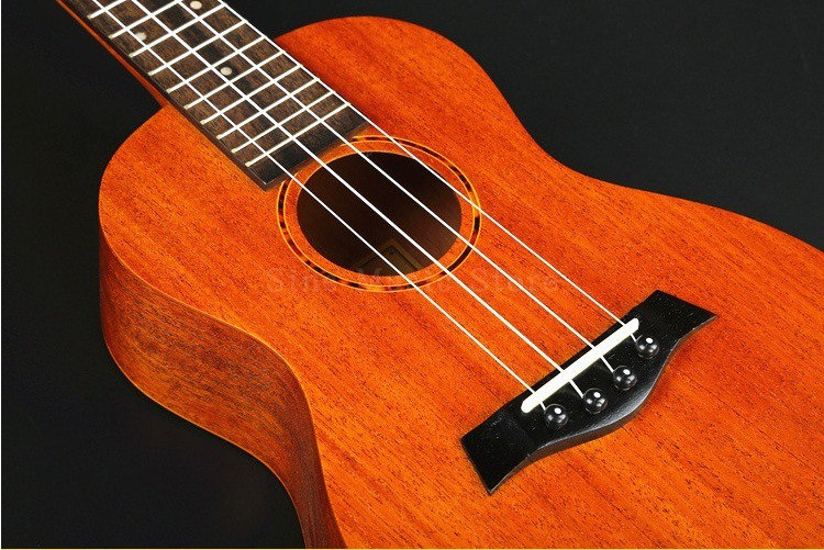 26 inch Mahogany Hawaiian Ukulele Mini Guitar Concert Rosewood 4 strings Children Small Guitar Musical Instruments Professional soprano concert tenor ukulele 21 23 26 inch hawaiian mini guitar 4 strings ukelele guitarra handcraft wood mahogany musical uke