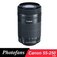 Canon 55 250 STM Lens Canon EF S 55 250mm f/4 5.6 IS STM Lenses for 650D 700D 750D 760D 1200D 1300D T3i T6 T5i T5 60D 70D 80D