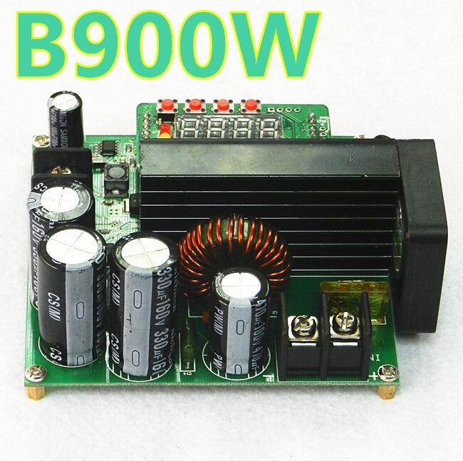 B900W LED Control Boost Converter DIY Voltage Transformer Module Regulator  Input DC 8-60V to 10-120V  900W  40%off lm2596hv dc dc adjustable voltage regulator module 5 60v input 1 25v 30v output
