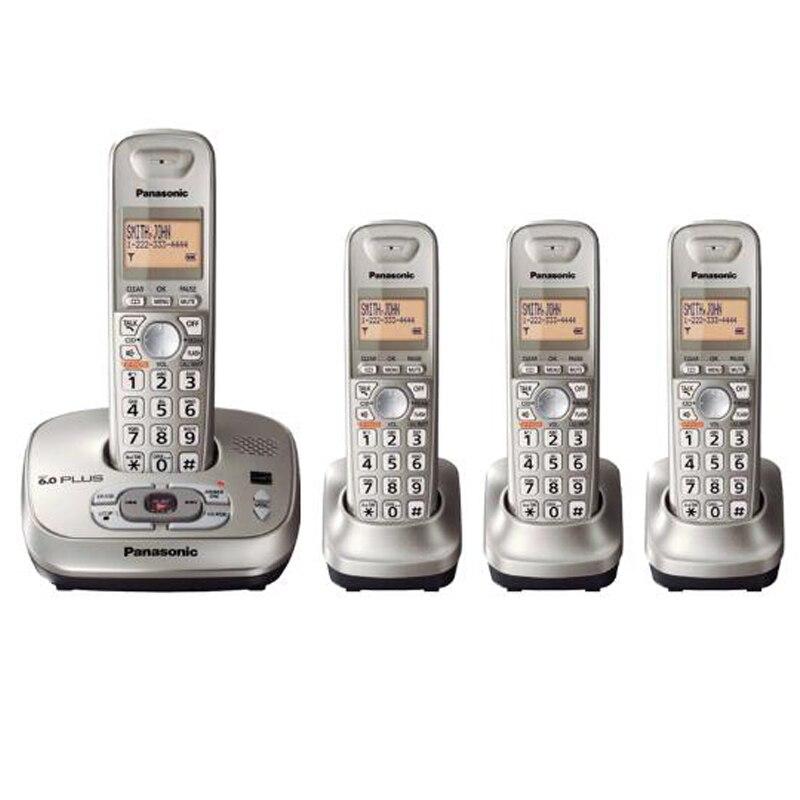 Téléphone fixe Sans Fil Avec Répondeur Mains Libres Messagerie Vocale LCD Rétroéclairé Téléphone Numérique Sans Fil Pour La Maison De Bureau D'affaires