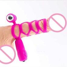 Задержка эякуляции мужчина более прочного кольцо крана вибрирующий пенис кольцо клитора массажер секс-игрушки для взрослых мужчин пару секса игрушка