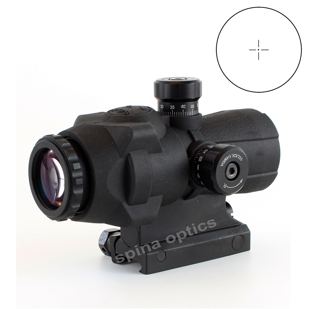 Tacticle 141-3x30 Magnified Rifle Scope 3x RGB Illuminate Sight  For Air Gun Shooting