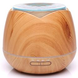 7 zmiana koloru światła Led ultradźwiękowy nawilżacz powietrza 400Ml maszyna do aromaterapii Aroma dyfuzor olejków eterycznych do pracy w domu Yog w Nawilżacze powietrza od AGD na