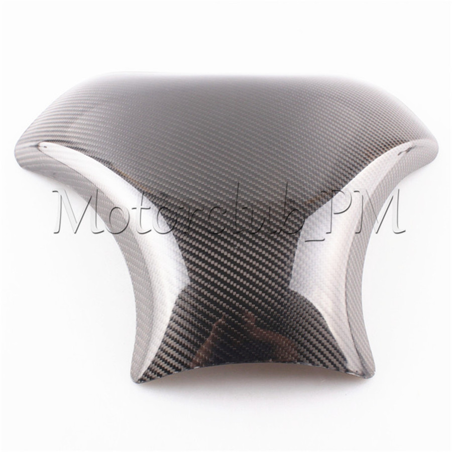 For Suzuki Hayabusa GSX1300R 99-07 Carbon Fiber Fuel Gas Tank Cover Protector GSXR1300 1999-2007 05 2006 Replacement New for suzuki hayabusa gsx1300r 1996 2007 injection molded abs plastic motorcycle fairing kit gsxr1300 99 07 gsxr 1300 c46