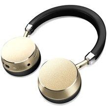 2016 Hot Sprzedaży Bezprzewodowy Zestaw Słuchawkowy Stereo Bluetooth słuchawki Głęboki Bas Słuchawki z Mikrofonem metalu Mody powłoki