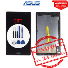 Оригинальные 7 »для Asus ZenPad c Z170 Z170CG P01Y полный ЖК-дисплей Дисплей матрица графический сенсорный экран Z170CG в сборе с рамкой