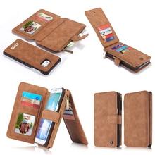 Пояса из натуральной кожи телефон, кошелек, сумка чехол для Apple iPhone 7 6 6 S плюс 5S 5 SE Samsung Galaxy S8 S6 S7 Edge Plus Телефонные чехлы