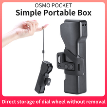 Case Storage-Buckle Osmo-Pocket Camera Portable for DJI Protective-Cover with Sling-Rope