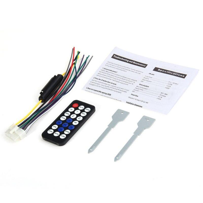 Автокөлік радиосы 12V Bluetooth V2.0 JSD520 - Автомобиль электроникасы - фото 6