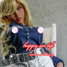 NEW 128cm Top quality 2016 real doll silicone sex doll love doll with oral anal vagina
